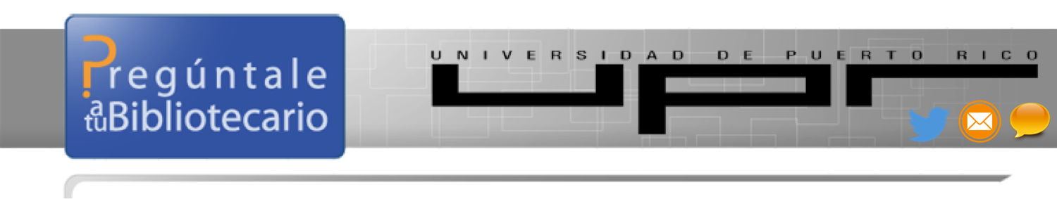 Referencia Virtual Universidad de Puerto Rico